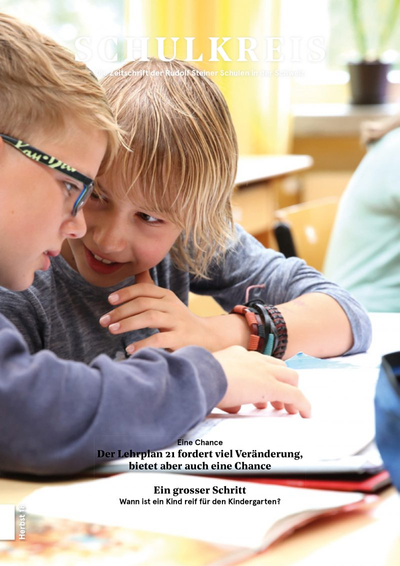 Schulkreis Herbst 2018 Titelbild